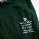 2004 Green Debate shirt