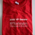 2008 VP Debate Red Shirt