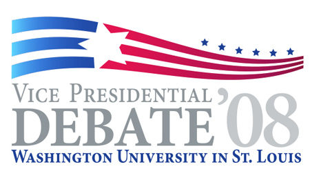 Oct. 2, 2008 – Vice Presidential Debate