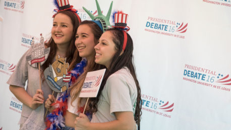 Social media brings debate story to life